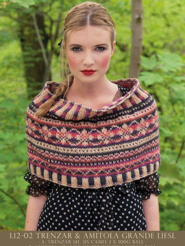 Louisa Harding L12-02 Liesel | Pinterest | Fair isles, Knitting ...