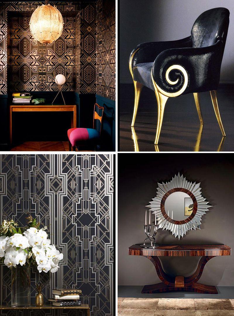 timeless art déco style – pixers' guide | art deco interiors