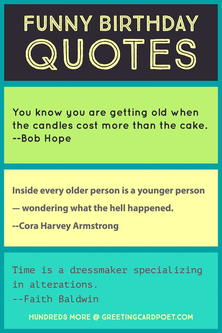 Funny Birthday Quotes and Sayings | Happy birthday quotes ...