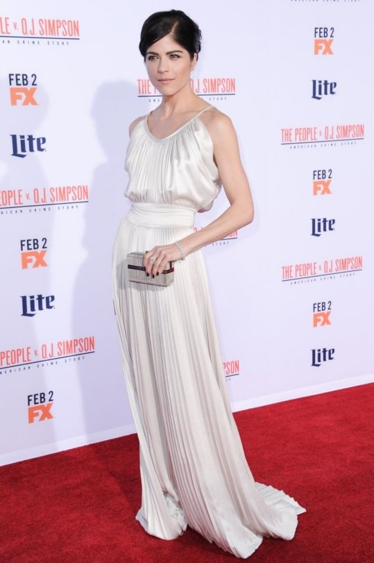 "10 best dressed: Rooney Mara and Lily James win first place: Selma Blair in Derek Lam at the premiere of The People v. O.J. Simpson  ""Selma Blair looks like she glided down the red carpet in her ethereal white gown."" – Dijana Savor, senior designer ""I love how this ensemble has somewhat of an '80's, Wall Street decadence vibe but is made completely modern with Blair's strong brows, nude lip and understated diamonds. Tennis bracelets seem to be back — play ball."" – Erin Weinger, digital…"