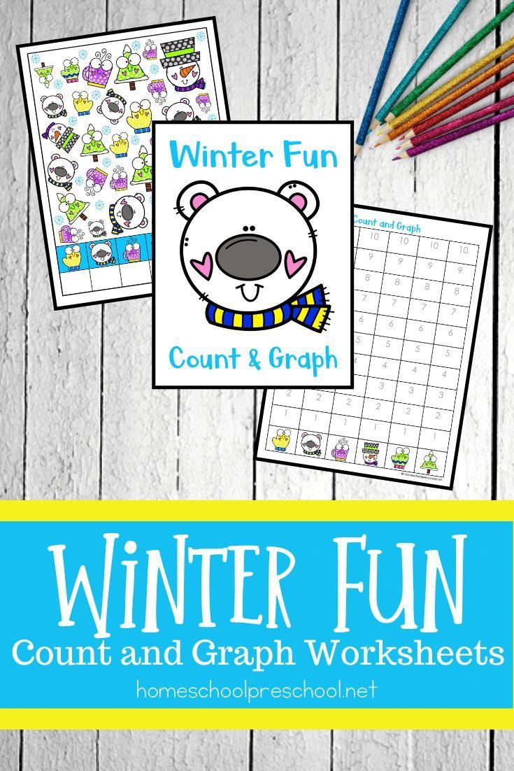 Winter Fun Count And Graph Worksheets Winter Activities For Kids Winter Preschool Printables Graphing Activities [ 1102 x 735 Pixel ]