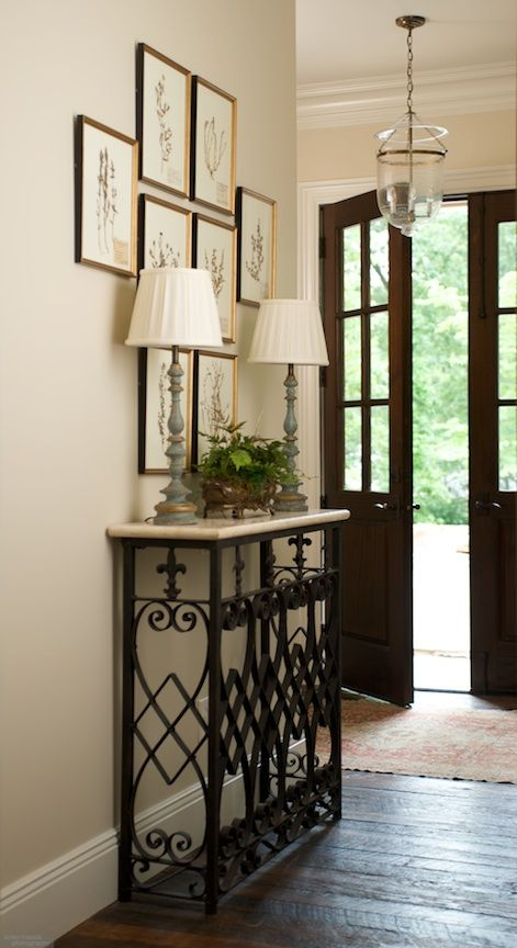 For The Entry Way By The Front Door Hall Decor Interior Front Entry Decor
