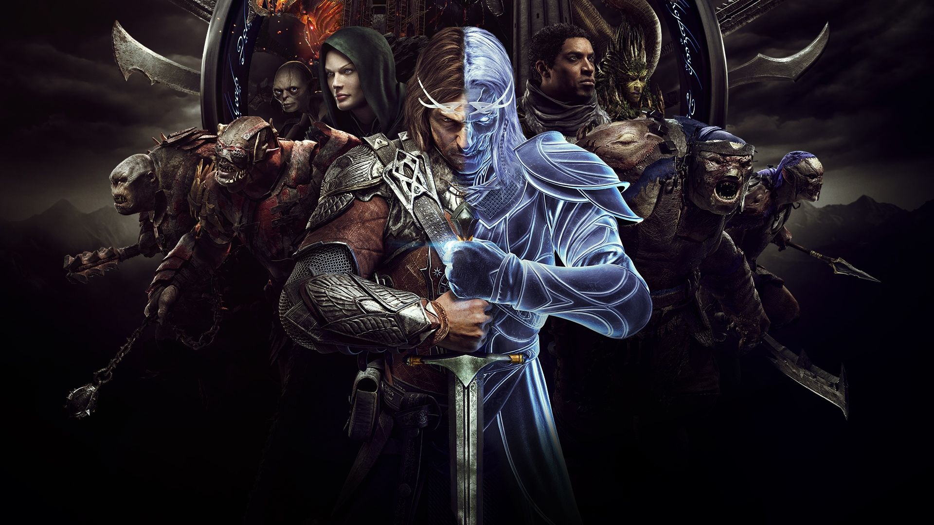 Middle Earth Shadow Of War Talion And Celebrimbor 1920x1080