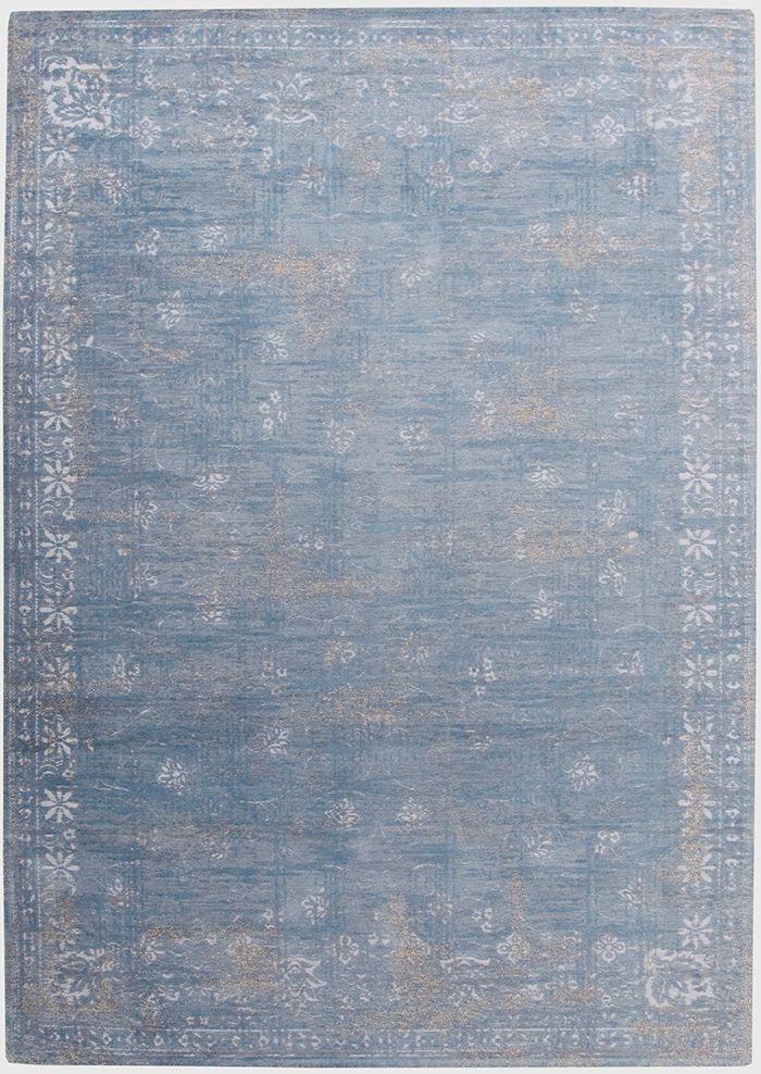 Vintage Teppich Blau Grau Beige Www Musterkollektion De