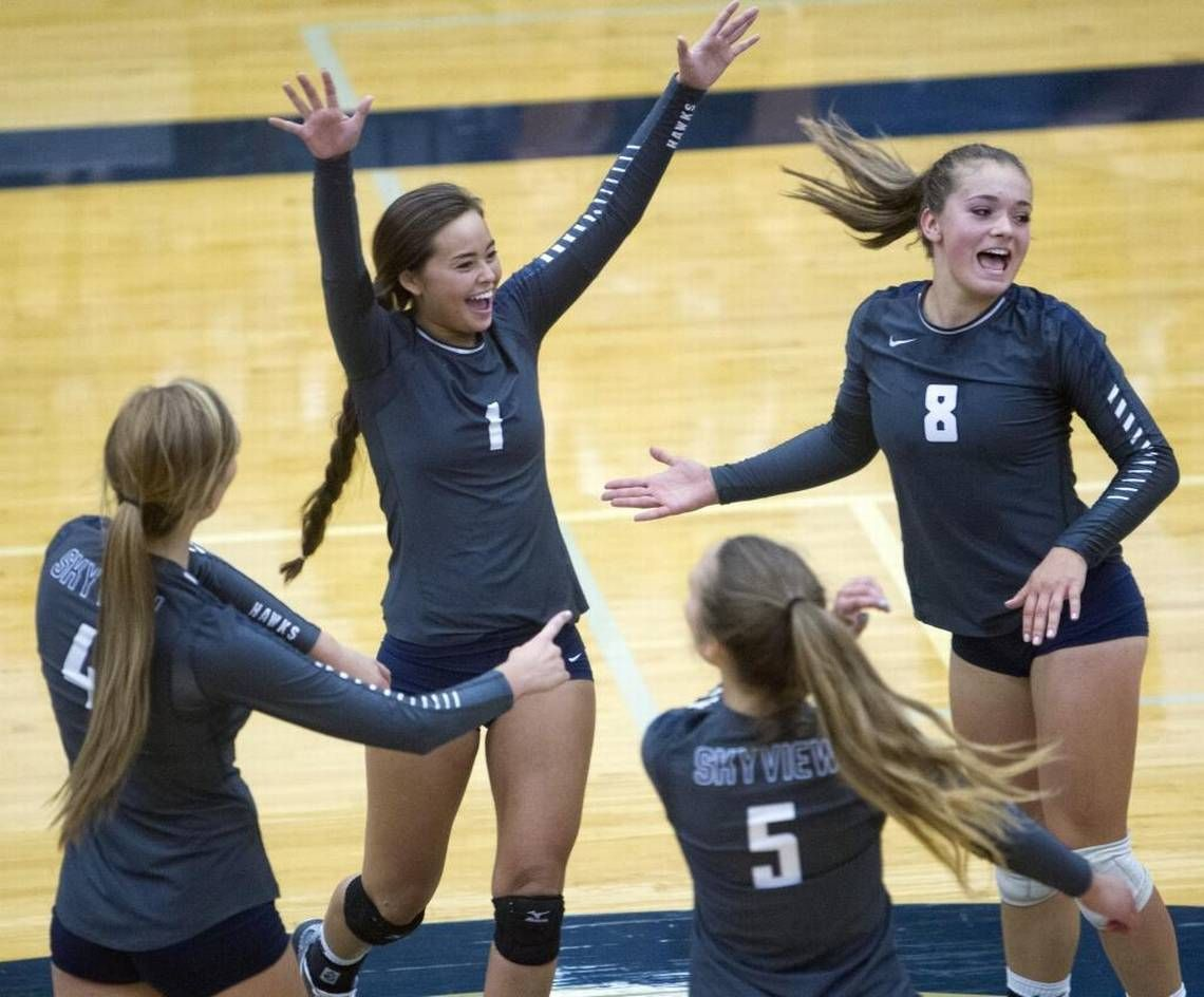 Skyview Volleyball Set For Another Title Run Can A Valley Team Break Through In 5a Volleyball Set Volleyball Teams