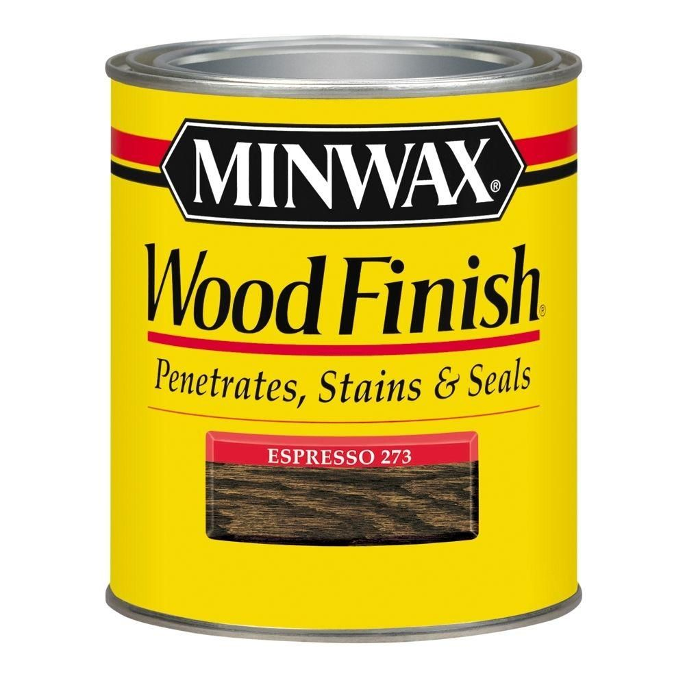 Minwax 1 Qt. Oil Based Espresso Wood Finish Interior Stain 700504444 At