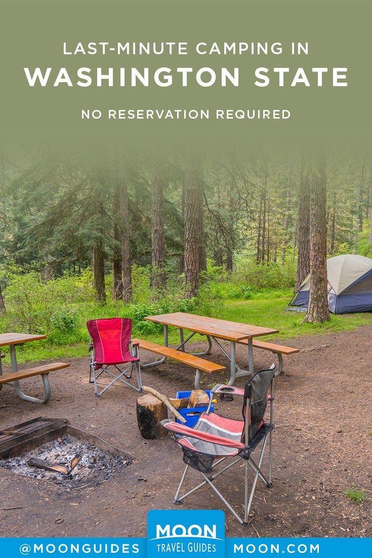 Last-Minute Camping in Washington State #thegreatoutdoors