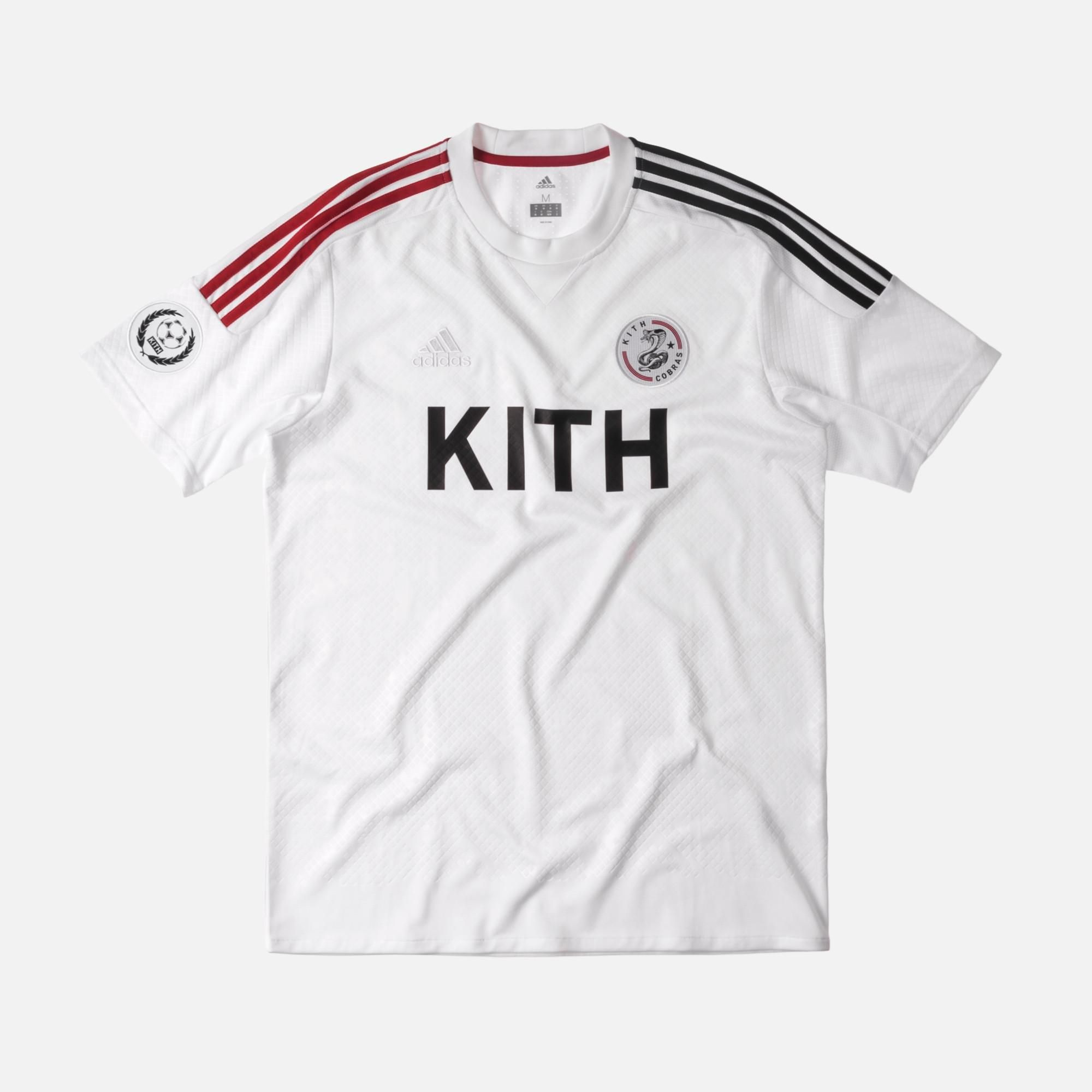 f9056d30b68 Kith x adidas Soccer Game Jersey - Cobras Home