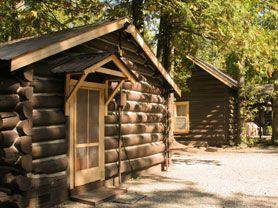 Glacier National Park Lodging : Apgar Village Lodge (Cabins U0026 Motel)