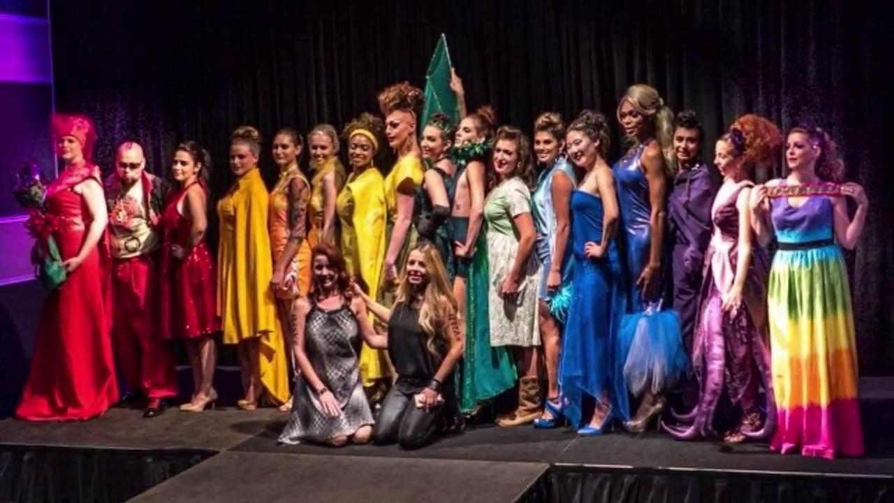 Austin School Of Fashion Design Rainbowfashionshow 2016 Asfd Fashion Design Fashion Fashion Show
