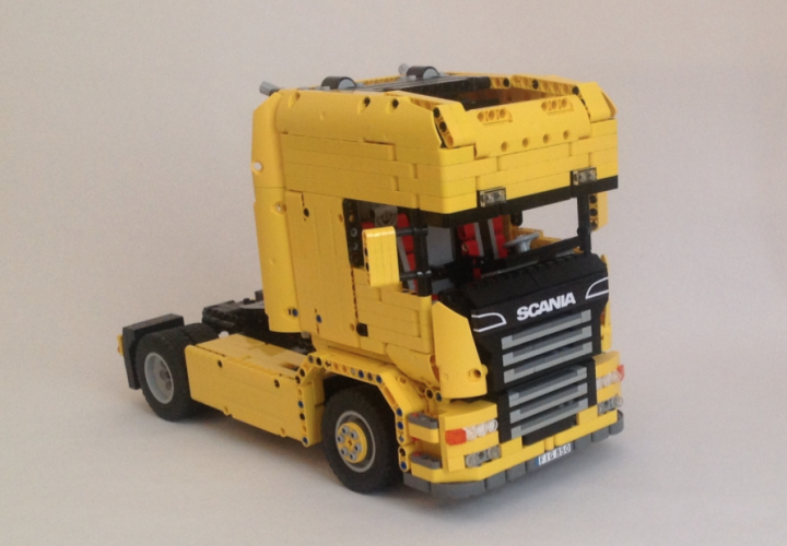 lego technic rc scania truck lego scania pinterest. Black Bedroom Furniture Sets. Home Design Ideas