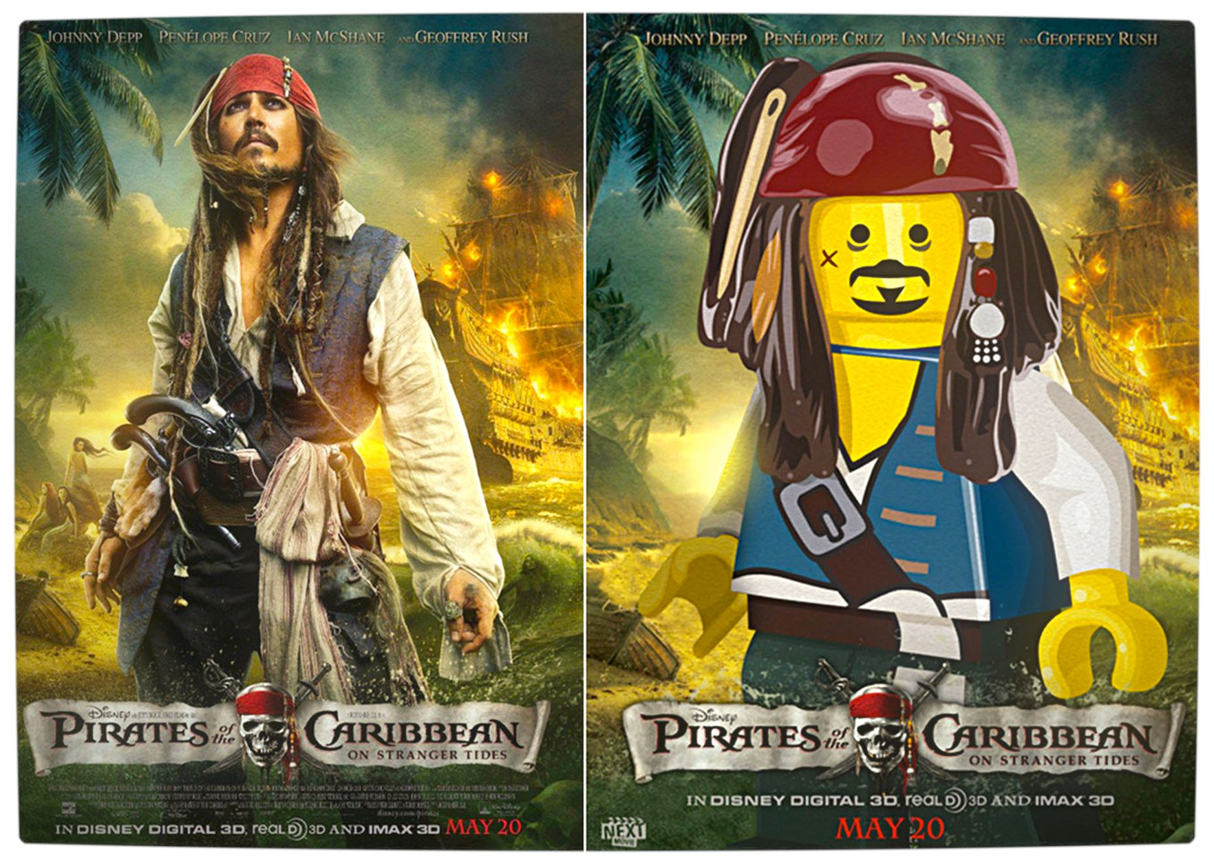 Vamers - Fandom - Movie Lego Posters - Pirates of the Caribbean