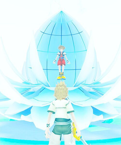 Sora? Hey, it's nice to meet you  My vacation's come to an end  Time