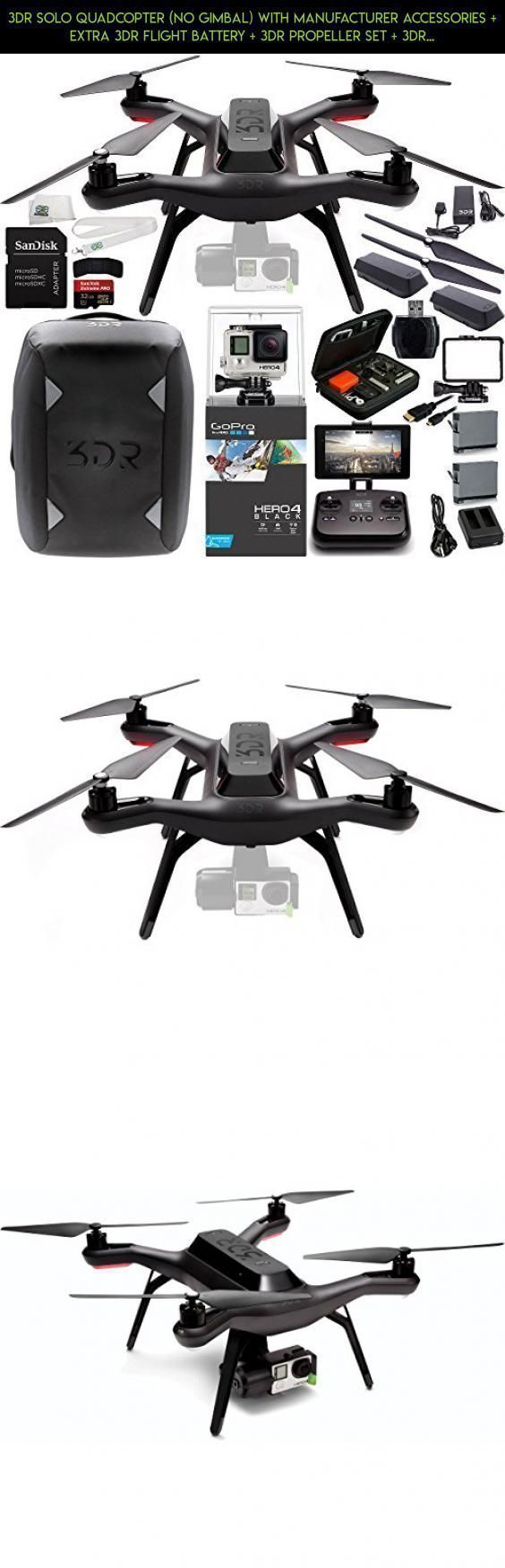 3dr Solo Quadcopter No Gimbal With Manufacturer Accessories. 3dr Solo Quadcopter No Gimbal With Manufacturer Accessories Extra Flight Battery Propeller Set Backpack Gopro Hero4 Blac. Wiring. 3dr Solo Drone Wiring Diagram At Scoala.co