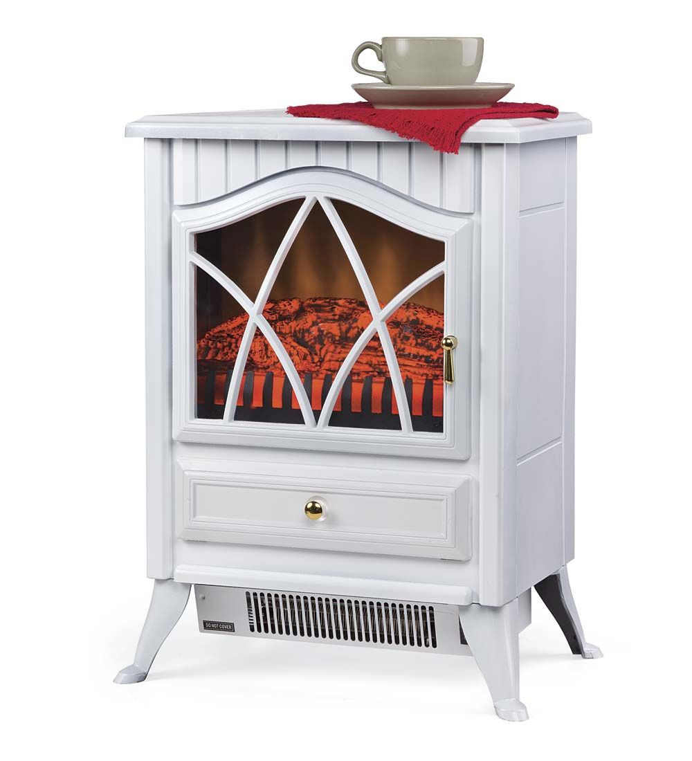 Compact electric stove electric fireplaces plow apartment