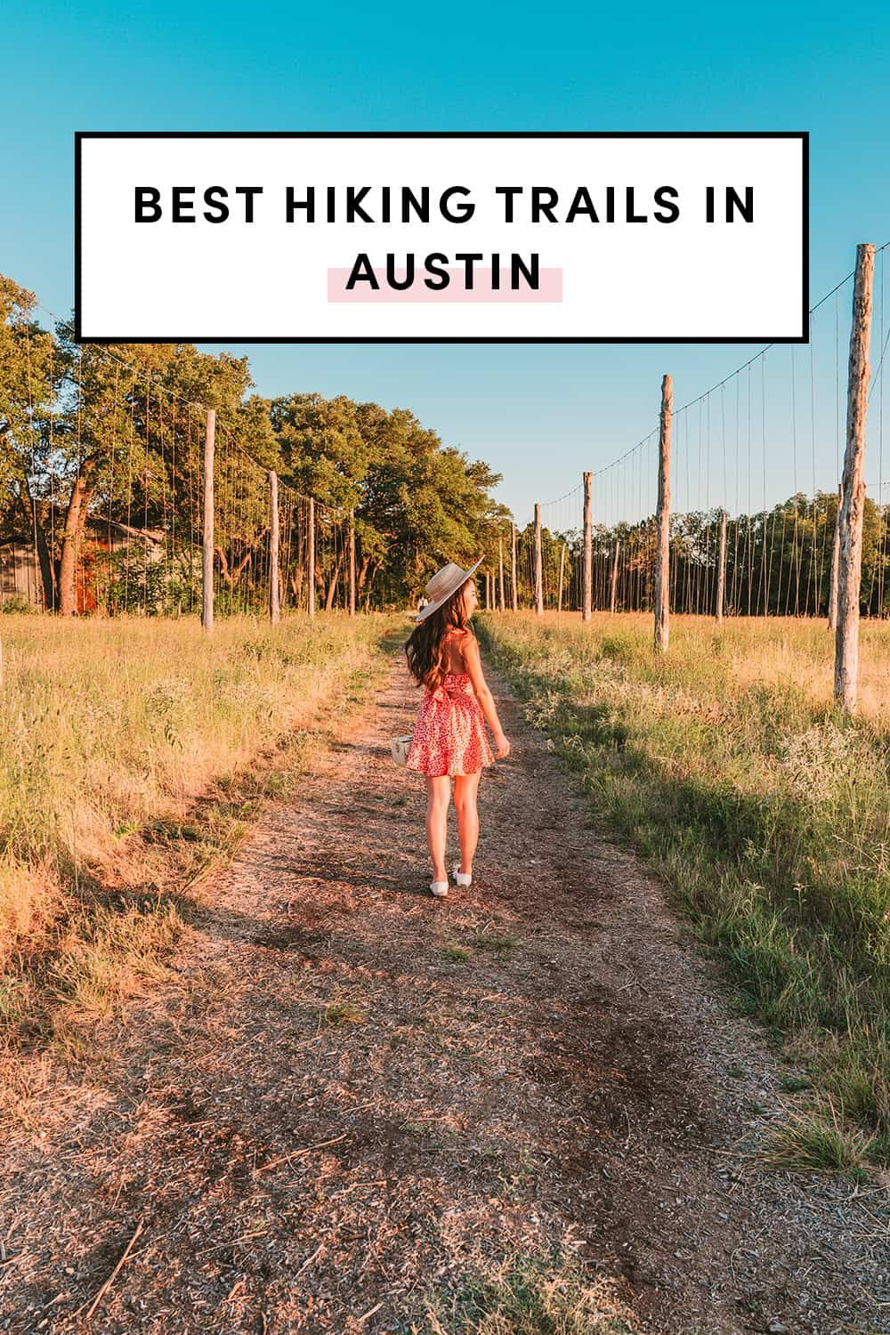 Best Hiking Trails In Austin - A Taste of Koko. Austin ranks among the fittest cities in America and we're so lucky to have so many hiking trails to get outside and exercise! Here's the guide on the best Austin hiking trails with hours, costs, tips, and any new restrictions. #exploreaustin #travelaustin #austinhiking