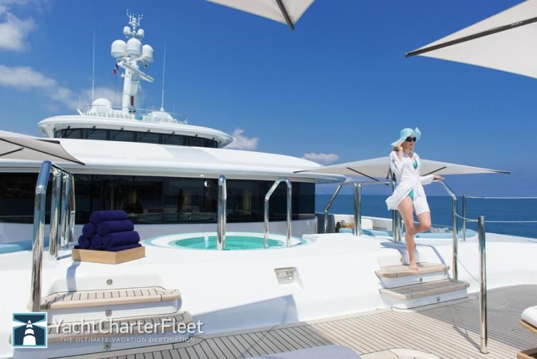 88m Nirvana Superyacht Built By Oceanco Is One Of The Most Advanced Yachts Available For Charter Yachtcharters Mo Luxury Yachts Luxury Yacht Interior Yacht