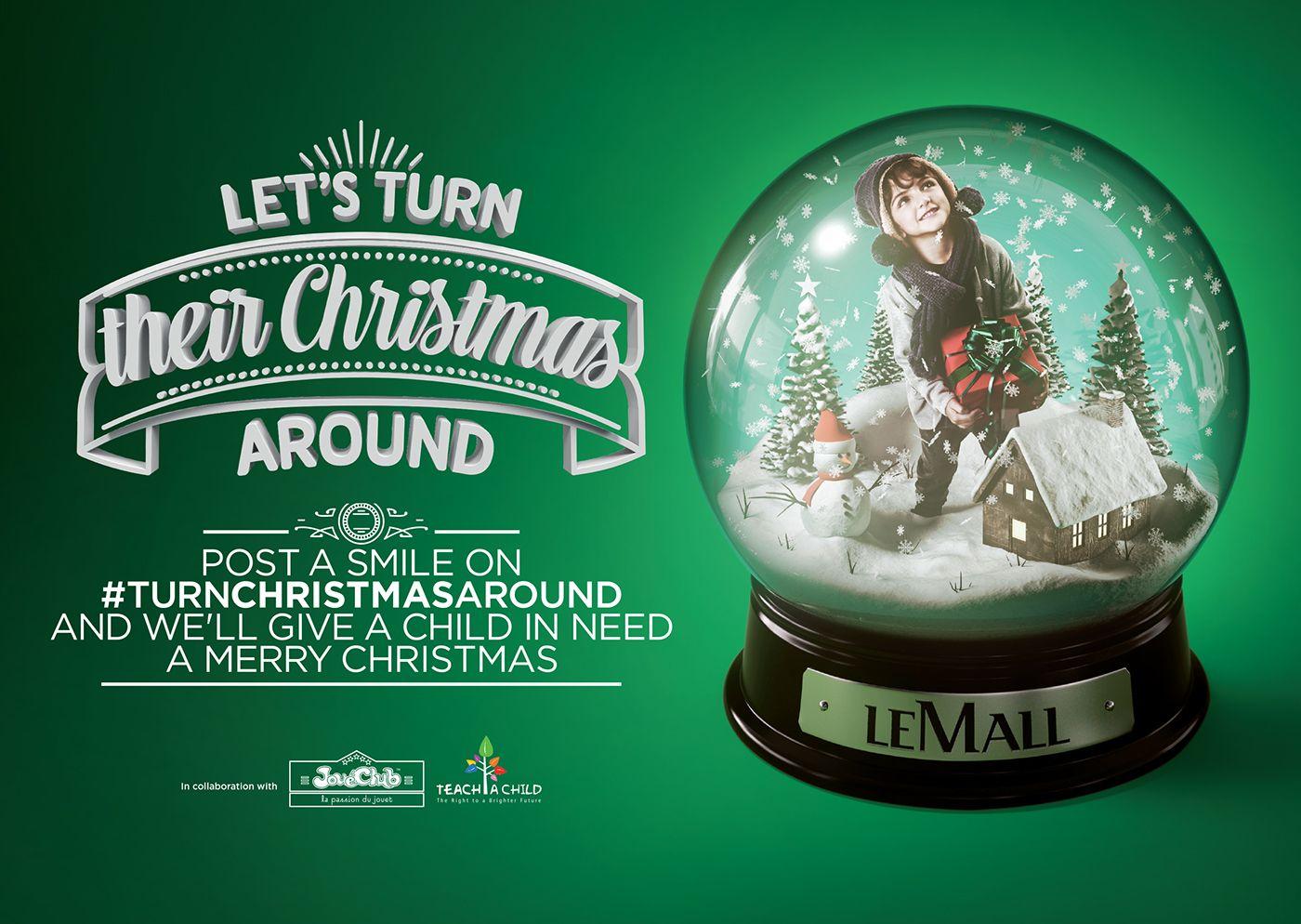 Le Mall Christmas ads 2015 on Behance