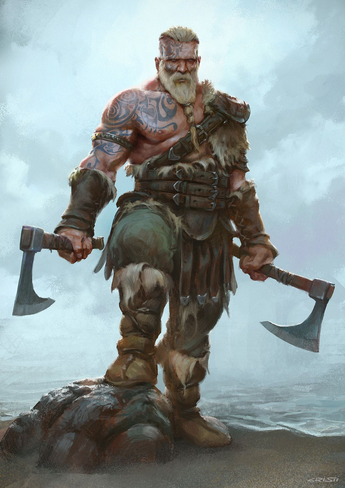 Открытка, крутые картинки викингов