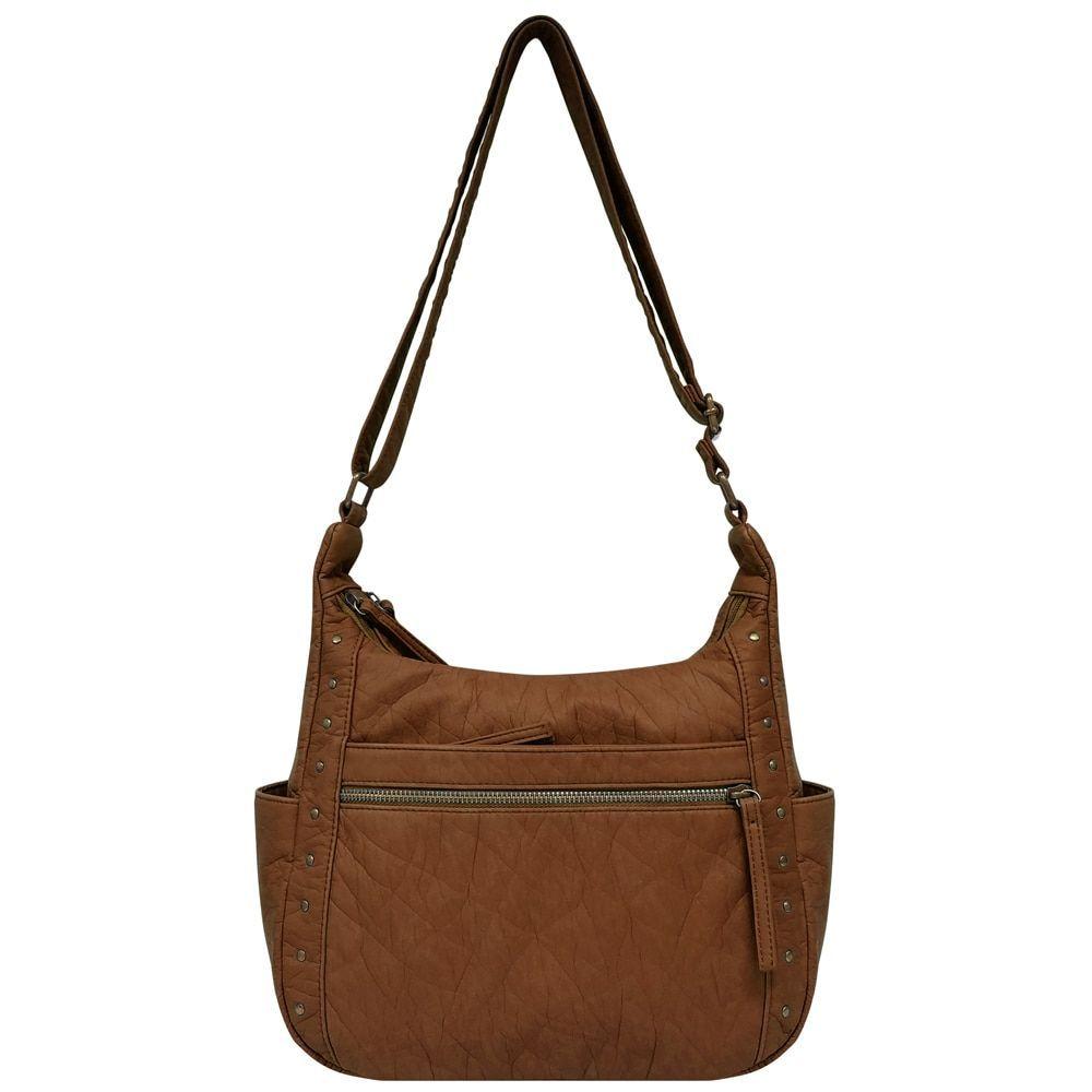 8c9bd7605fdb Hobo Purses · Bueno Washed Elephant Grain Hobo Handbag