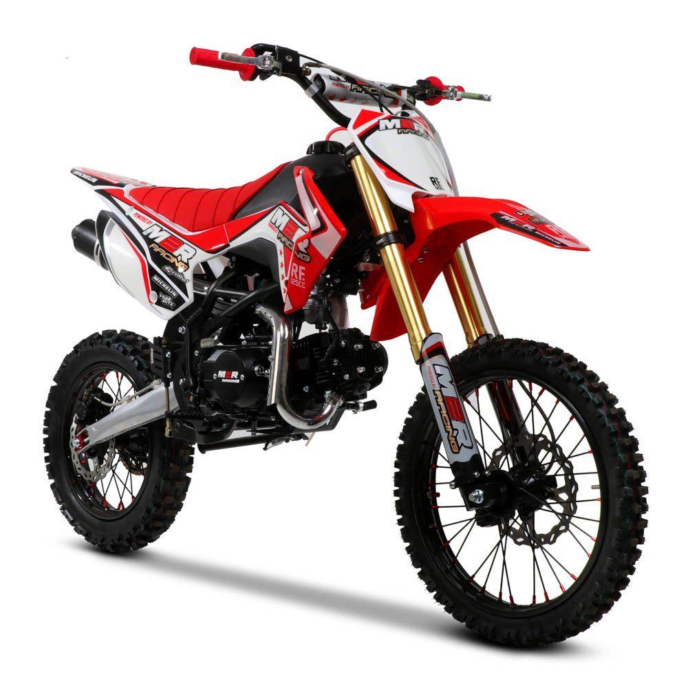M2r Rf125 S2 125cc 17 14 86cm Red Dirt Bike In 2021 Bike Dirt Bikes For Sale Dirt Bike
