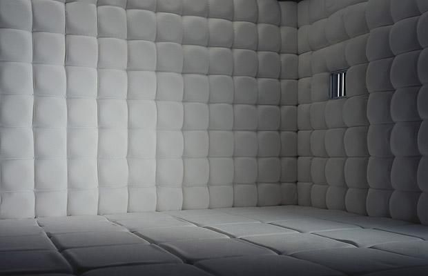 Unique White Padded Walls