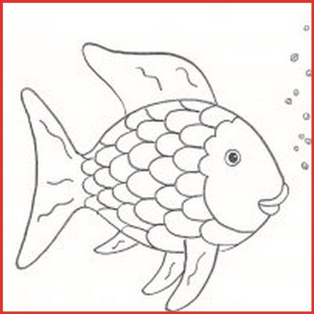 bildergebnis für regenbogenfisch applikationsvorlage