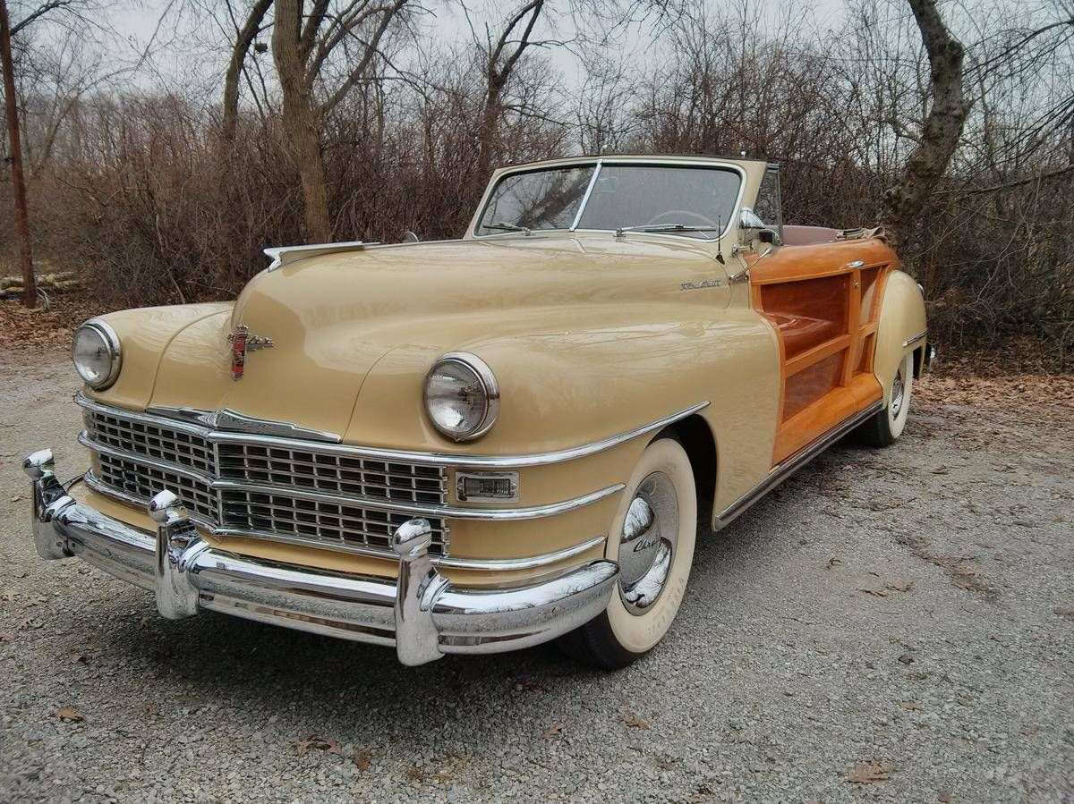 1947 Chrysler Town Country Convertible