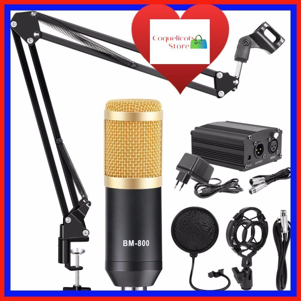nouveau kit microphone home studio pro