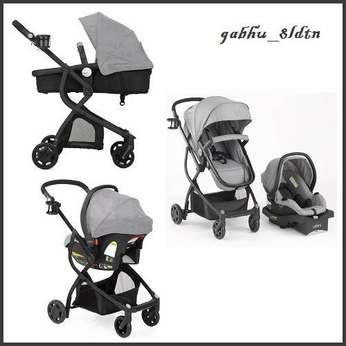 Urbini Omni Plus 3 in 1 Travel System Special Edition Baby Car Seat /& Stroller