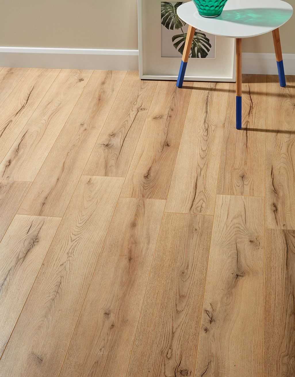 Loft Rustic Oak Laminate Flooring Oak laminate