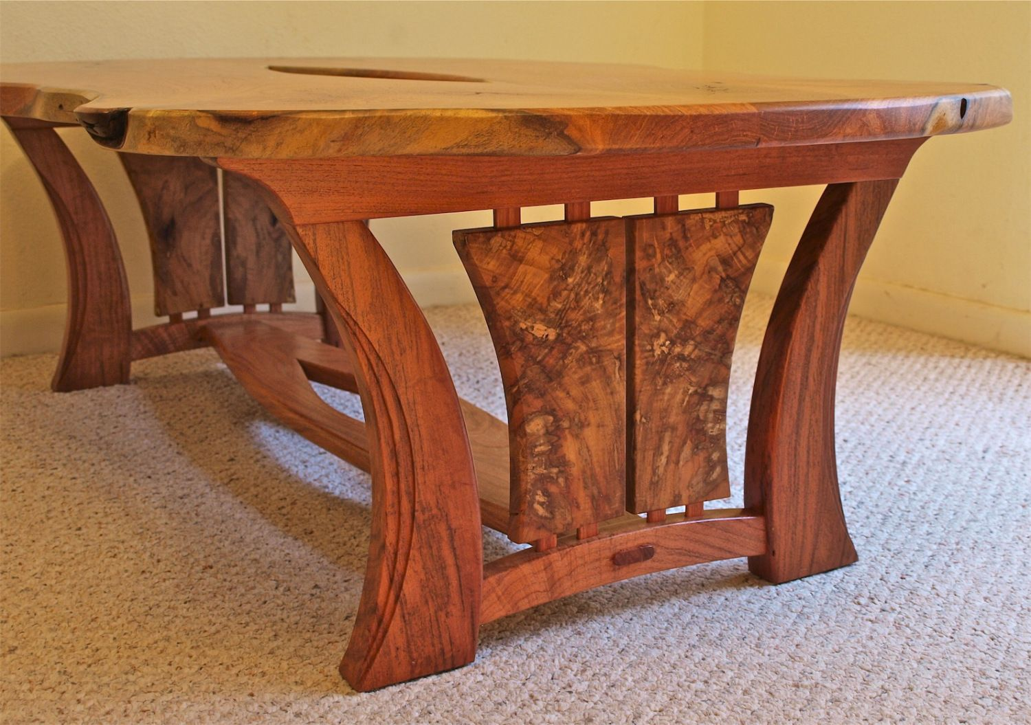 live edge mesquite coffee table project ideas handmade wood furniture table furniture. Black Bedroom Furniture Sets. Home Design Ideas