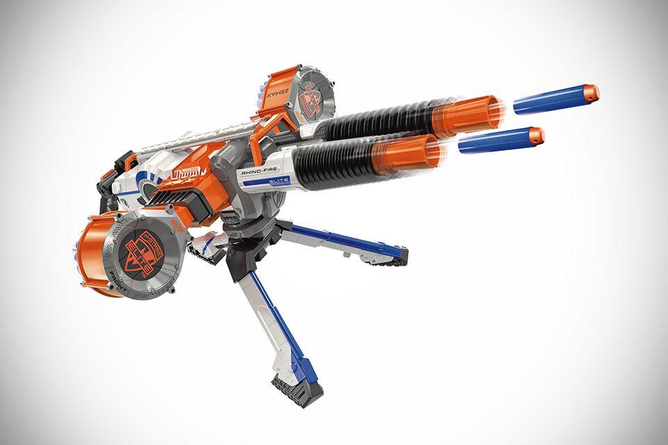 Toys R Us Nerf Guns : Nerf n strike elite rhino fire blaster