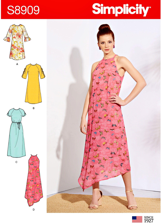 Sewing Pattern Women S Easy Dress Pattern Raglan Sleeve Etsy Simple Dress Pattern Sleeveless Dress Pattern Loose Fit Dress Pattern [ 3000 x 2153 Pixel ]