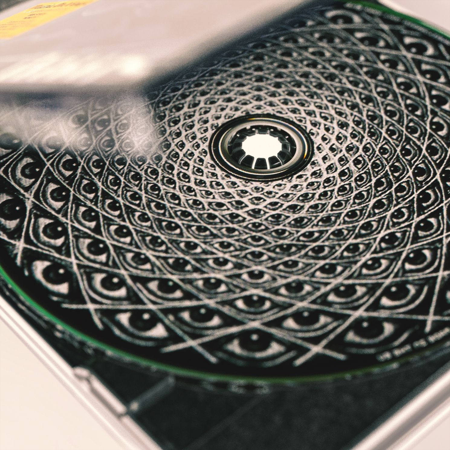 TOOL 10000 days CD case close ups, rendered in KeyShot by Hossein