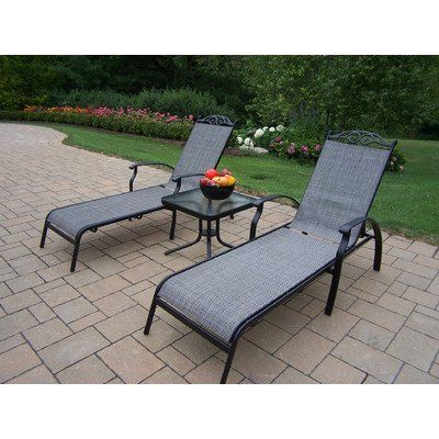 Special Offers - Oakland Living Cascade Sling 3-Piece Black Chaise Lounge Set with 2 Chaise Lounges and 20-Inch End Table - In stock & Free Shipping. You can save more money! Check It (May 20 2016 at 04:59PM) >> http://gardenbenchusa.net/oakland-living-cascade-sling-3-piece-black-chaise-lounge-set-with-2-chaise-lounges-and-20-inch-end-table/