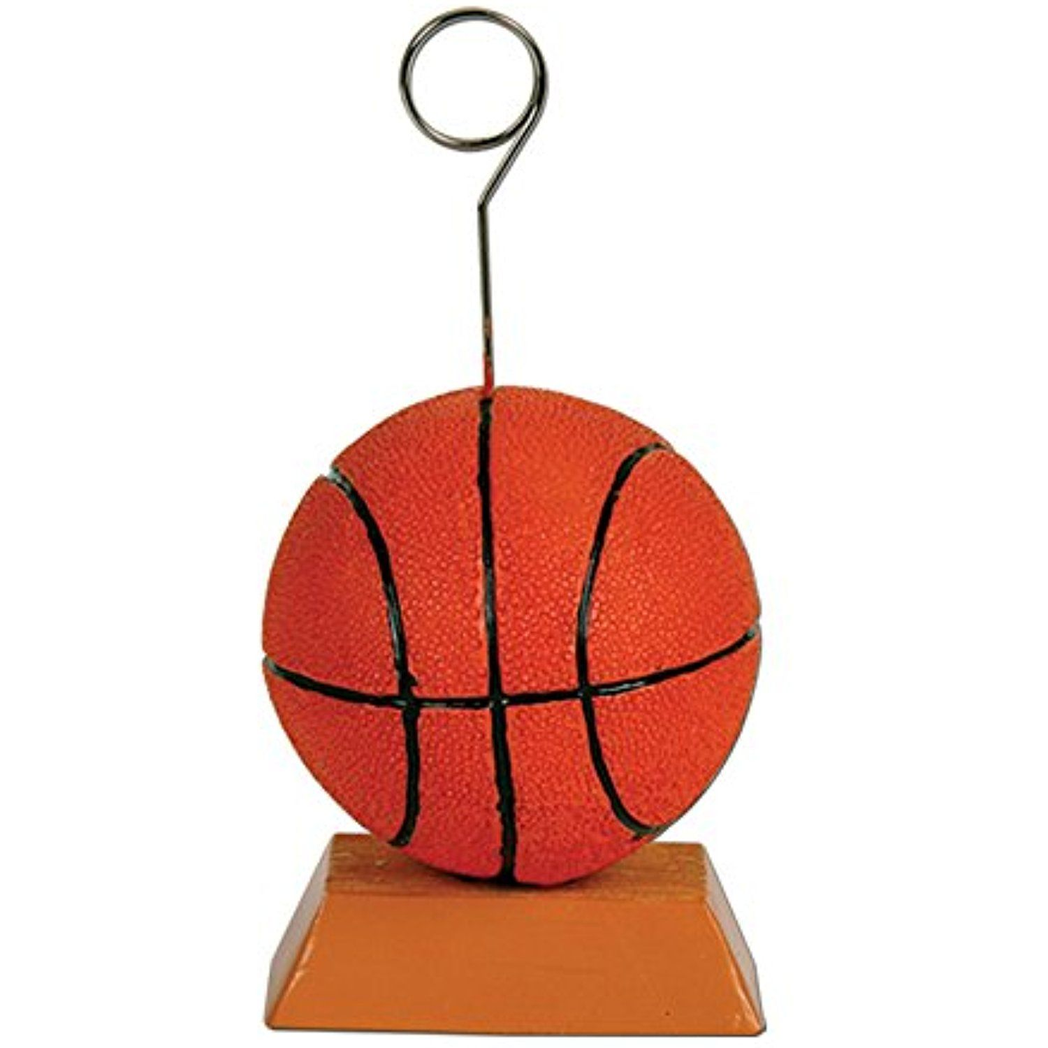 Beistle Basketball Photo/Balloon Holder 6 Oz >>> See this great ...