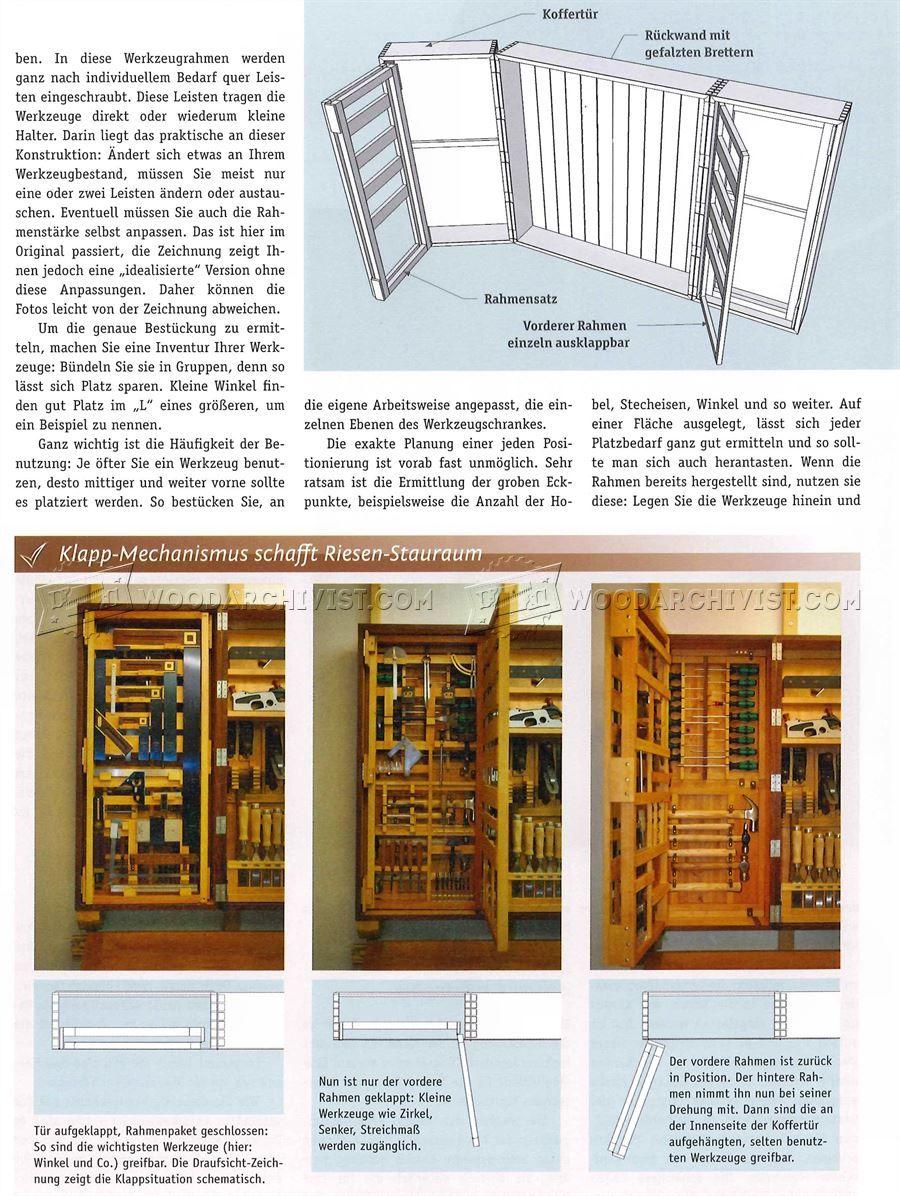 Hanging Tool Cabinet Plans - Workshop Solutions   Workshops ...