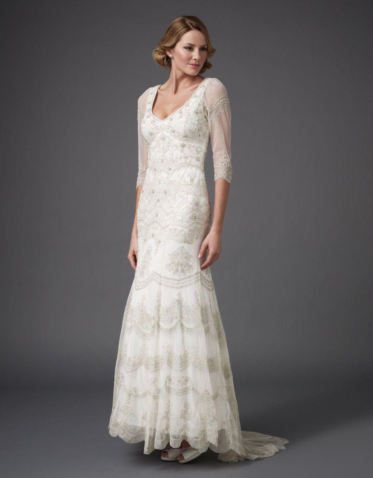 Breya Dress From Monsoon Bridal Embellished Wedding Dress Monsoon Wedding Dresses Stunning Wedding Dresses