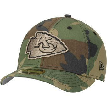 1c9129d6 Kansas City Chiefs New Era Woodland Camo Low Profile 59FIFTY Fitted ...
