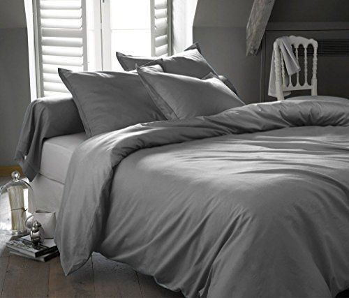 Genuine 100 Egyptian Cotton 800 Thread Count Duvet Sets Lavish Sa Solid 3 Piece King California Size Set Gray