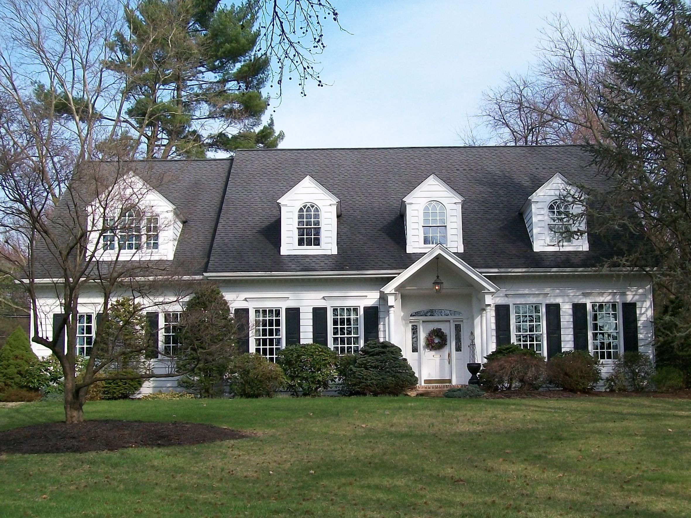 Beautiful cape cod house cape cod house ii pinterest for Cape cod dormer