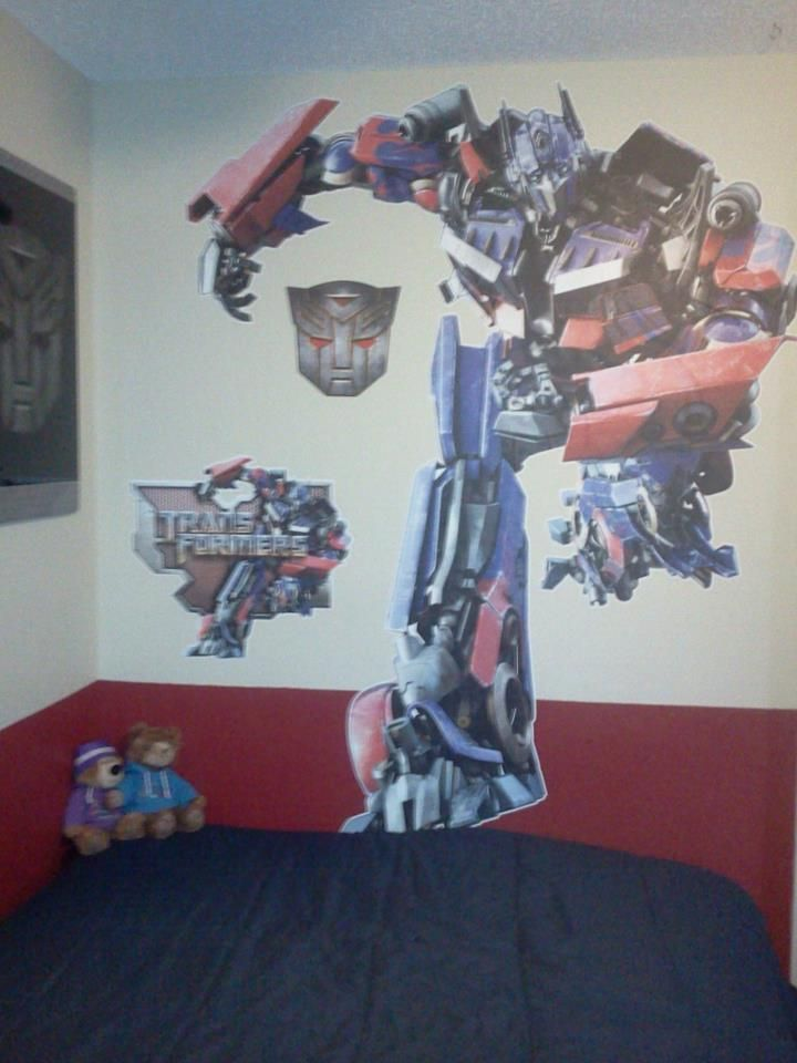Fathead Wall Art transformers fathead wall decal | holiday gift guide 2013