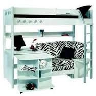 Bunk Beds With Couch And Desk Google Search Bedrooms Pinterest