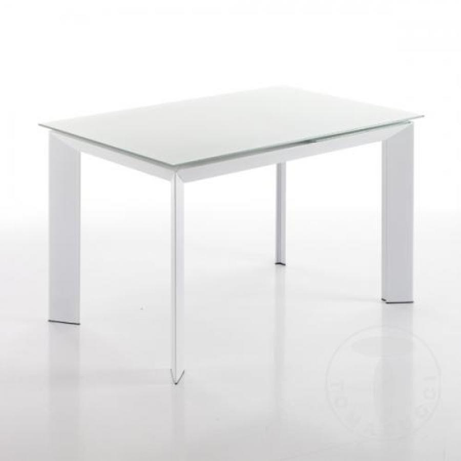 Tavolo 80x120 white tomasucci blade 2439 tavoli for Tavolo 70x110 allungabile