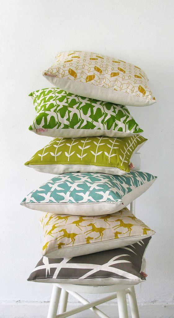 almofadas. Tecidos, estampas e cores !