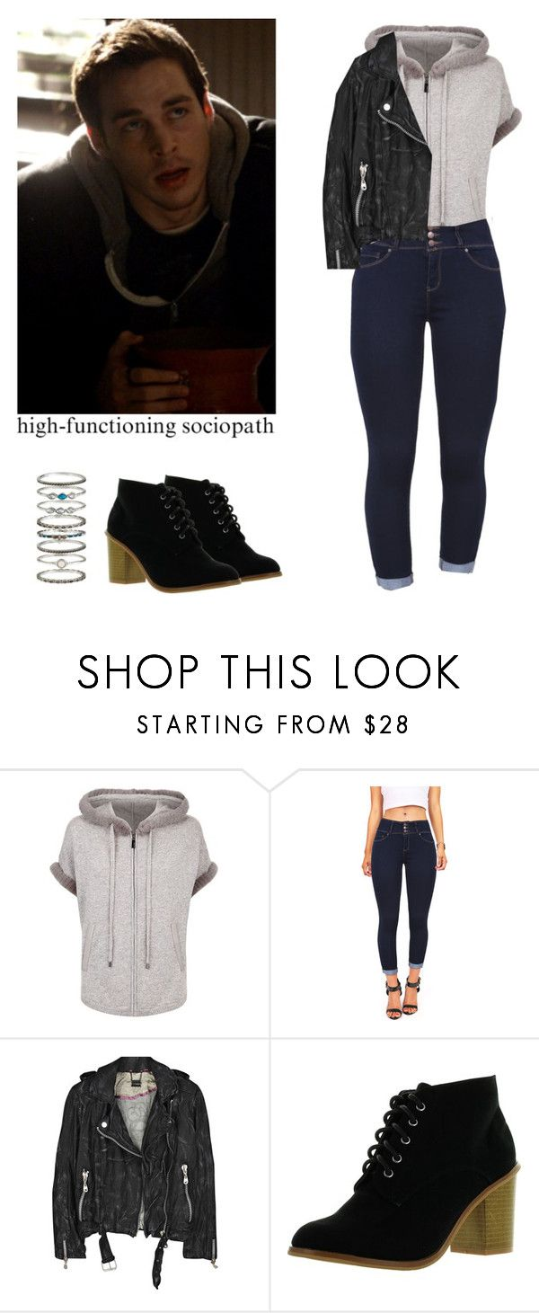 """""""Kai Parker - tvd / the vampire diaries"""" by shadyannon ❤ liked on Polyvore featuring Max & Moi, Wax Jean, Doma and Accessorize"""