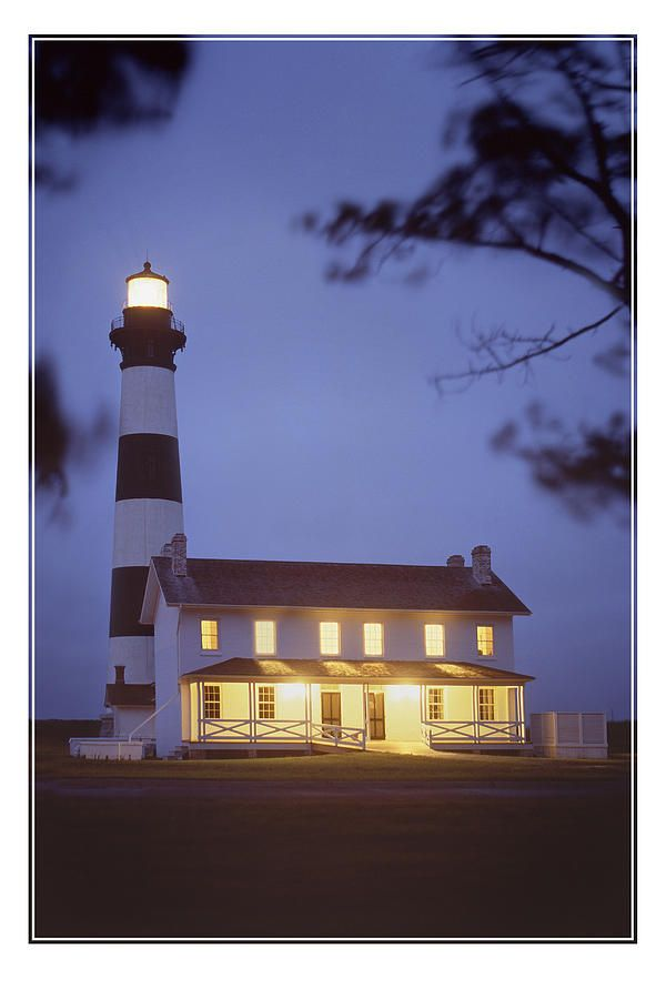 Bodie Light Just After Dark Photograph by Mike McGlothlen