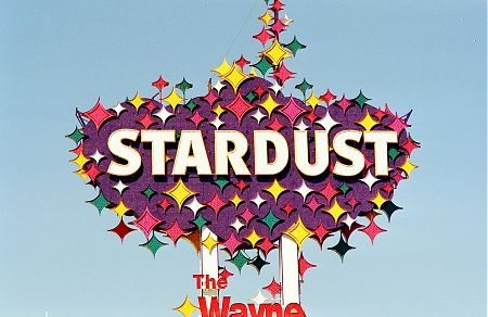 The Historic Stardust Resort And Casino Sign That Used To Reside