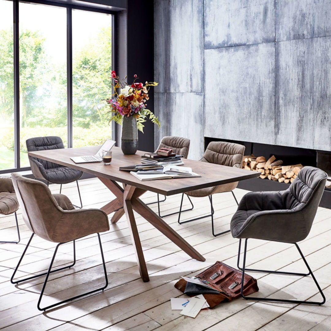 CENTRO Design Esstisch (Holzgestell)  Haus deko, Holztisch, Dekor